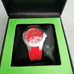 Red Croton watch